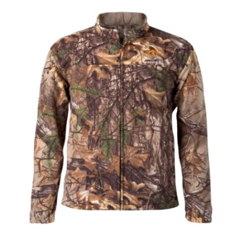 Scentlok Vortex Windproof Fleece Jacket Realtree Xtra Medium Vortex Windproof Fleece Jacket by Scentlok