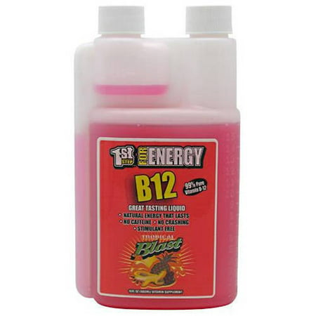 Image of 1st Step for Energy B12, Tropical Blast, 16 Fl oz