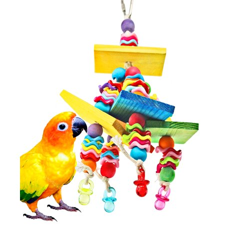Bonka Bird Toys 840 Wiggles N Wafer