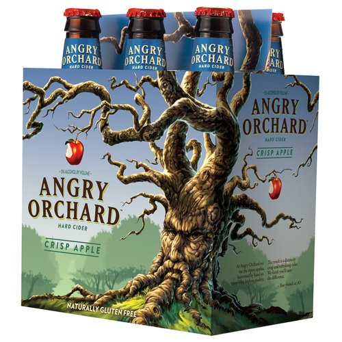 Angry Orchard Crisp Apple Hard Cider, 6 pack, 12 fl oz