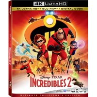 Incredibles 2 (4K Ultimate Collector's Edition) (4K Ultra HD + Blu-ray + Digital)
