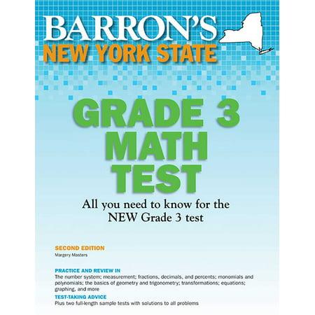 New York State Grade 3 Math Test