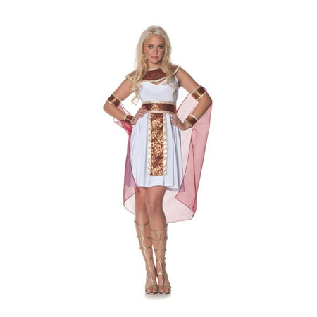 JEWEL OF THE NILE cleopatra egyptian greek roman goddess halloween costume LARGE - Roman Goddess Halloween Costume
