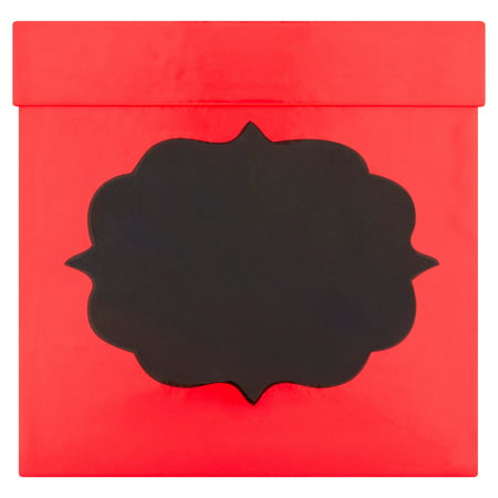 Holiday Time Red Square Christmas Box - Christmas Boxes