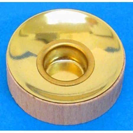 Wood Brass Tealight Medium Candle Cup Insert RPINSERT-TL-MED - Made in Germany ()
