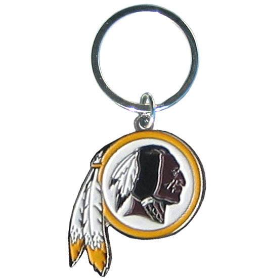 Washington Redskins Official NFL Chrome Key Chain by Siskiyou 935237