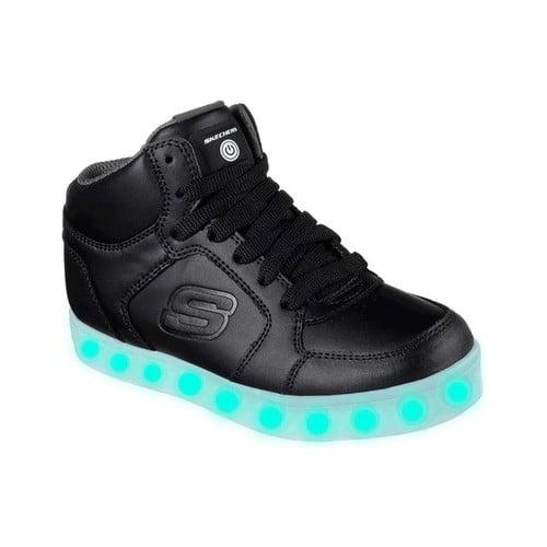Children's Skechers S Lights Energy Lights High Top Sneaker