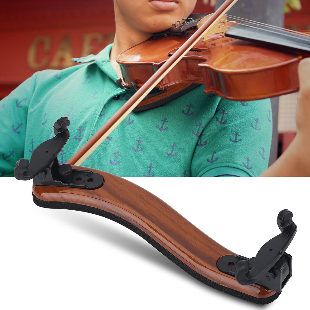 Adjustable Violin Shoulder Rest Rubber Pad for 3 4 4 4 Size Violin Instrument Accessory... by