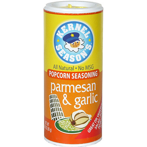 Kernel Season's Parmesan And Garlic Popcorn Seasoning, 2.85 oz  (Pack of 6)