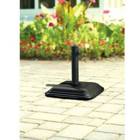 Mainstays Lawson Ridge Powder Coated Steel Umbrella Base Walmart Com