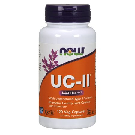 Collagen Protein Supplement (NOW Supplements, UC-II Type II Collagen with Undenatured Type II Collagen, 120 Veg Capsules )