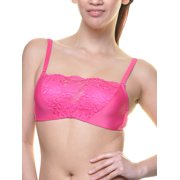 6-Pack Bandeau Style Modesty Bras with Convertible Straps