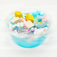 【LNCDIS】Ice Cream Beautiful Color Mixing Cloud Slime Putty Scented Stress Kids Clay Toy