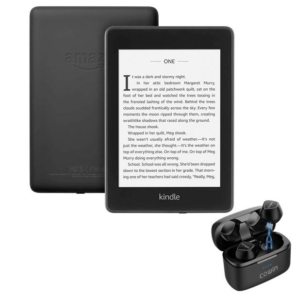 Kindle E-Reader Paperwhite 8GB - Black- with Wireless ...