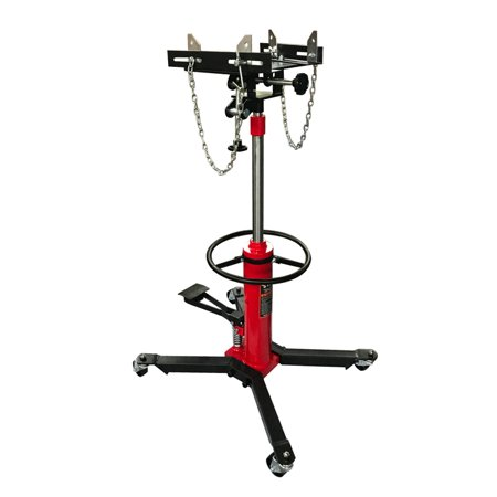 Zimtown 1100lbs Transmission Jack Auto Shop 2 Stage Hydraulic Foot