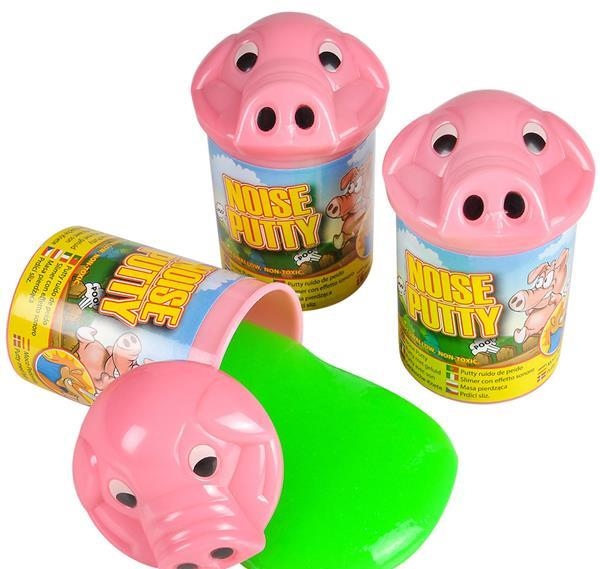"3.75"" PIG NOISE PUTTY, Case of 72"