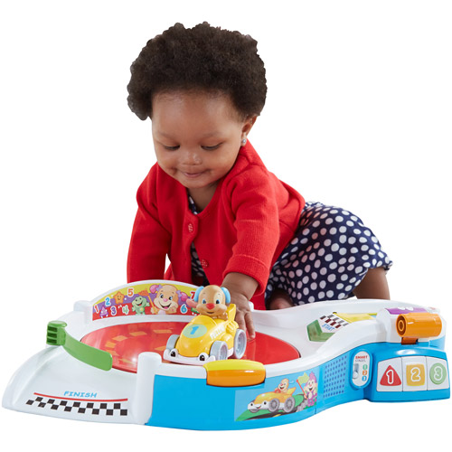 Fisher-Price Laugh and Learn Puppy's Smart Stages Speedway