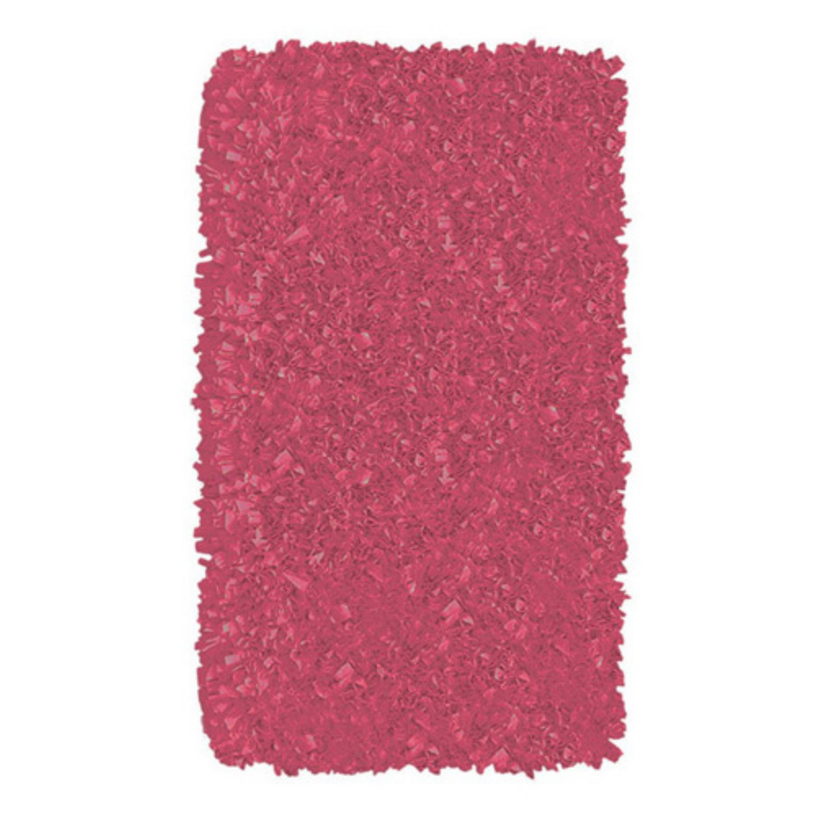The Rug Market Shaggy Raggy Raspberry Size 2.8' x 4.8' Area Rug