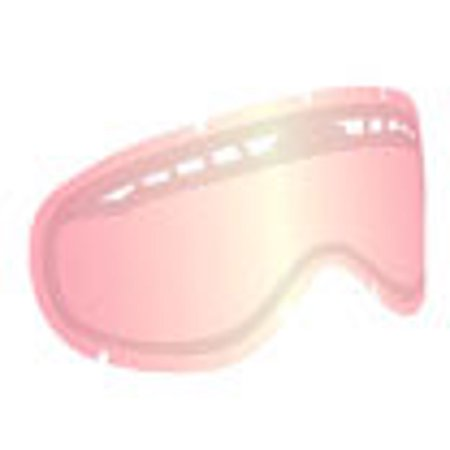 Ionized Goggles - Dragon Alliance Ionized All Weather Lens for MDX Goggles, Pink Pink Ion Dual Lens - No Post