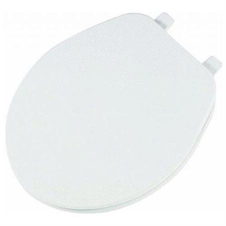 Bemis/Mayfair Round White Economy Plastic Seat