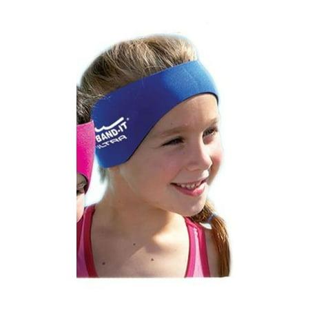 Airsoft Blue Reusable Ear Plugs (Ear Band-It Head Band w/Ear Plugs, Blue,)