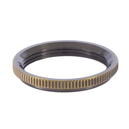 B P Lamp Solid Brass Uno Ring Medium Sunlite Sockets Antique Brass