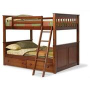 Woodcrest  Pine Ridge Full/Full Mission Bunk Bed