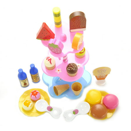 Sweet Treats Ice Cream And Desserts Tower Play Set -