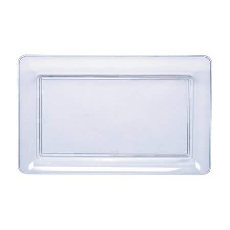 Fun Express - Clear Plastic Tray 11x18 for Wedding - Party Supplies - Serveware & Barware - Serving Platters - Wedding - 1 Piece](Plastic Party Trays With Lids)