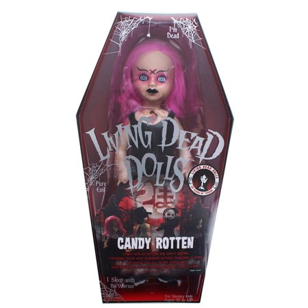 Living Dead Dolls 20th Anniversary Series 10-Inch Collector Doll - Candy - Dead Doll