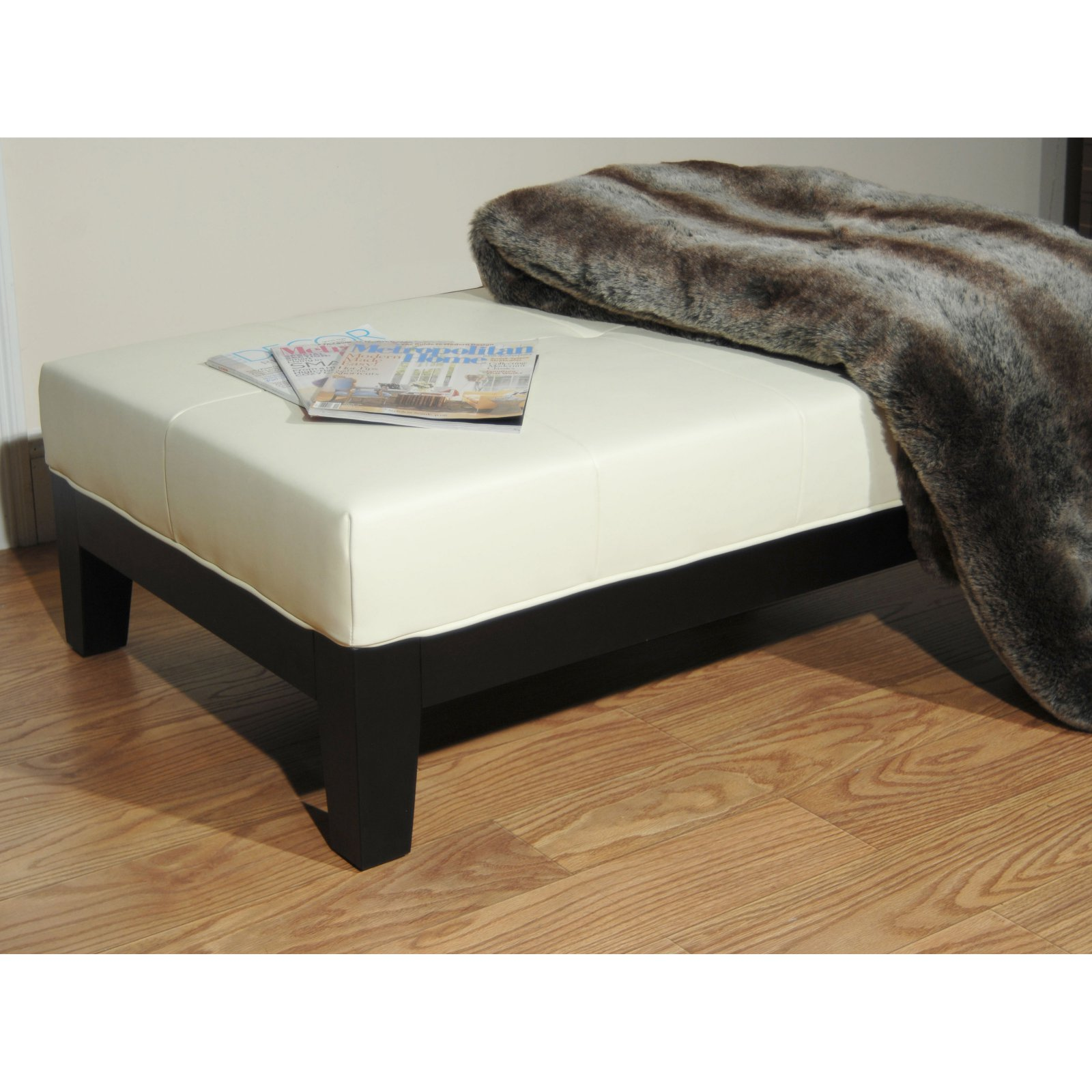 Safavieh Rectangular Cocktail Ottoman