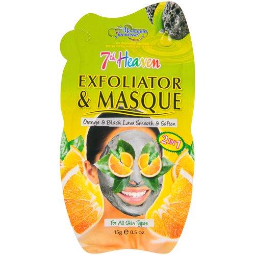7th Heaven Exfoliator and Masque Face Mask, Smooths & Softens, 0.5oz VMV Hypoallergenics Illuminants+ Brilliance Treatment: Primary Cream (50mL)