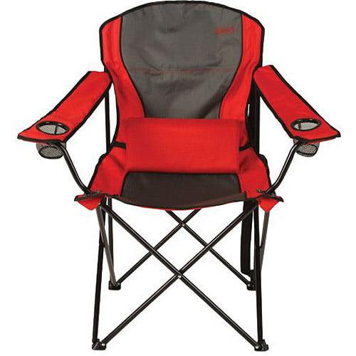 Coleman Lumbar Quad Camping Chair Walmart Com