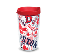 MLB Boston Red Sox All Over 16 oz Tumbler with lid