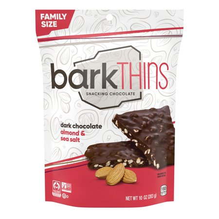barkTHINS Almond with Sea Salt Dark Chocolate - 10oz