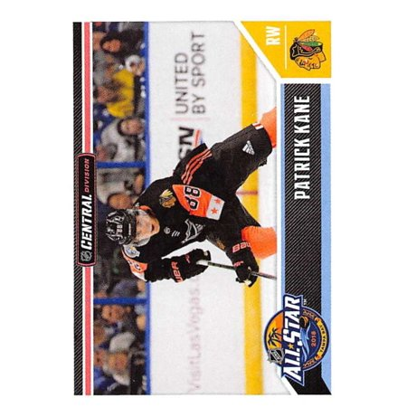 2018-19 Panini NHL Stickers #526 Patrick Kane Chicago Blackhawks Hockey Card