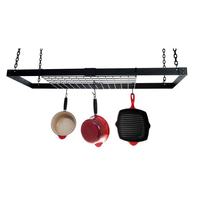 Advantage Components Expandable Black Rectangle Pot Rack by Advantage Components LLC