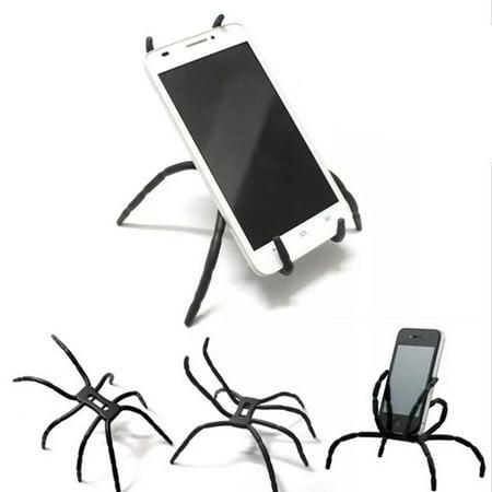 for iPhone iPad Phone Tablet Stand Holder Spider Adjustable Grip Car Desk Phone Kickstands Mount Support