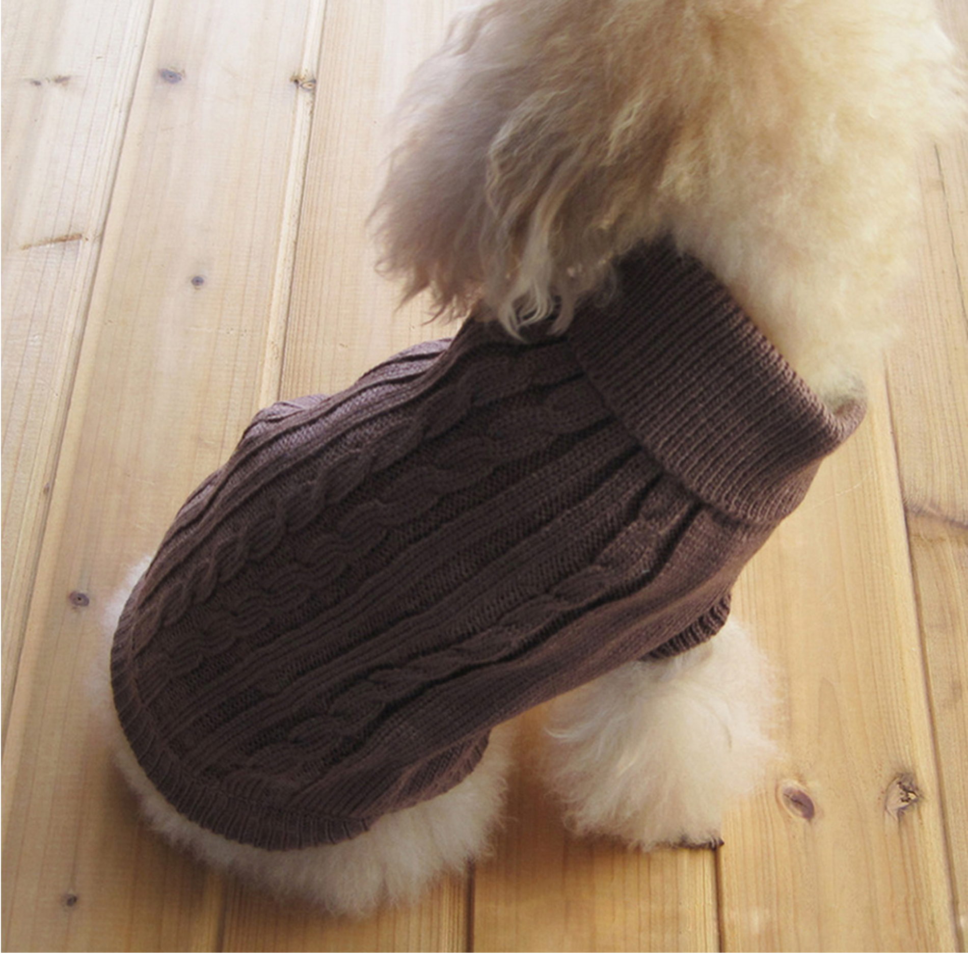 Pet Dog Cat Warm Coat Sweater Winter Cloth for Small Puppy