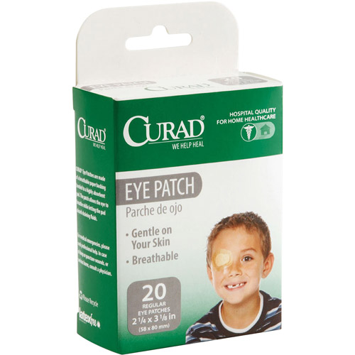 Medline Industries Curad Eye Patch, 20 ea