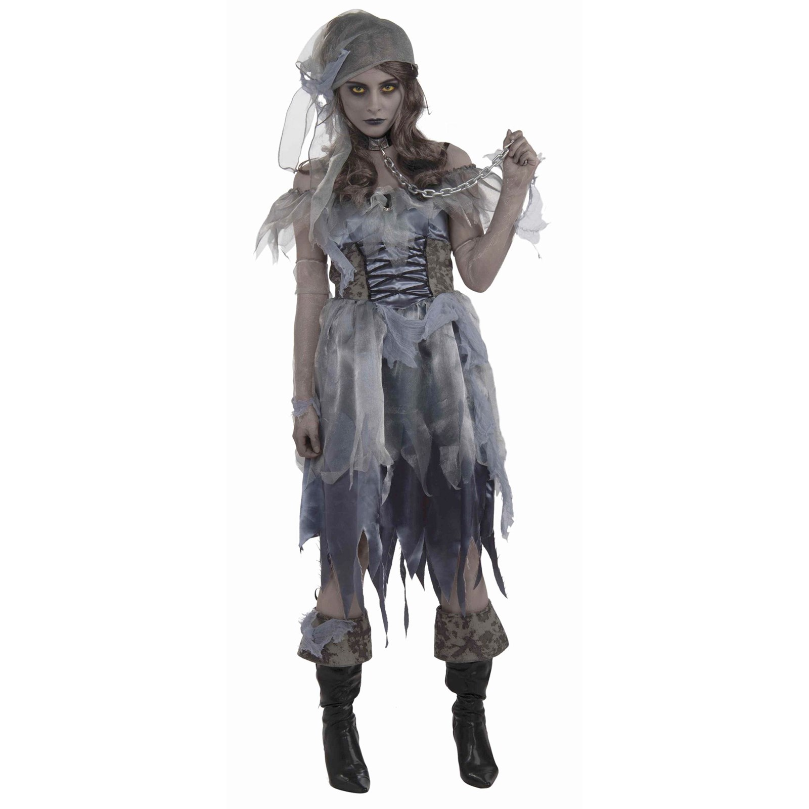 Walked the Plank Women's Pirate Zombie Costume