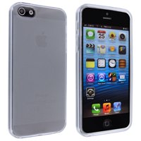 Clear TPU Gummy Case Cover for iphoness 5 5S SE