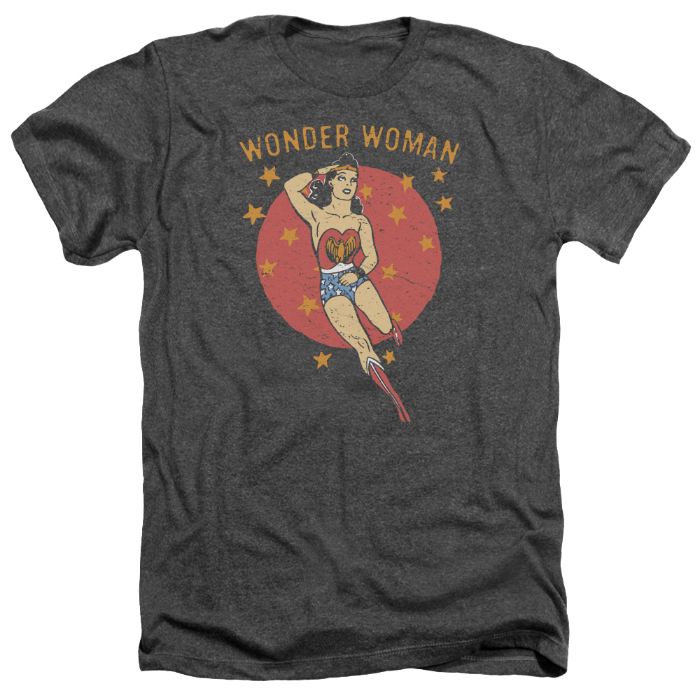 DC Comics Wonder Circle Mens Heather Shirt