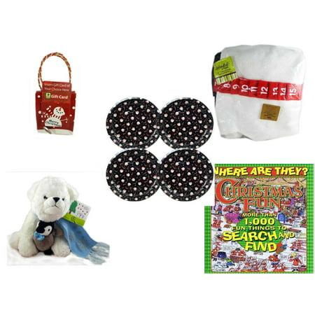 Christmas Fun Gift Bundle [5 Piece] - Musical Gift Card Holder Snowman - Splendid! By Nygala 40