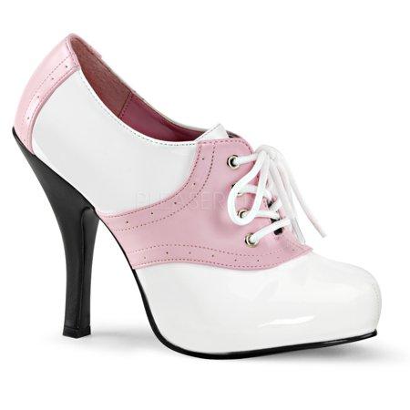1950 Saddle Shoes (SADDLE-48, 4 1/2'' Heel, 3/4'' Hidden)