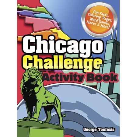 Chicago Challenge Activity Book (Halloween Activities For Toddlers In Chicago)