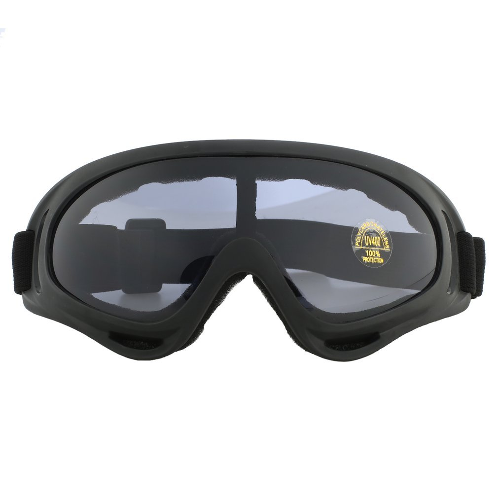 Outdoor Cycling Protective Goggles Windproof Skiing Goggles with Elastic Band by
