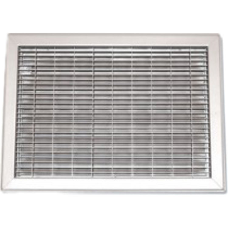 36X26 White Vent Cover (Steel) – Shoemaker 1560 Series
