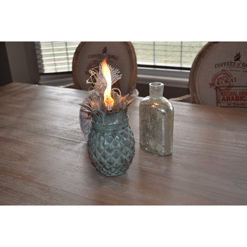 Pineapple Tabletop Torch by Starlite Garden and Patio Torche Co.