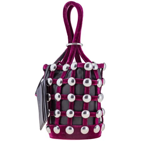 Alexander Wang Ladies Bucket bag Fuchsia/Purple Roxy Cge Mini Bucket
